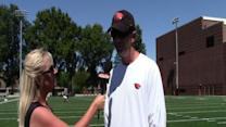 2013 Fall Camp: Coach Brennan