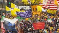 Thousands Protest Abortion