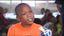 8-Year-Old Chicago Boy's Plea: 'Put the Guns Down'