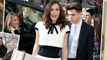 Keira Knightley auf der Fashion Week Paris
