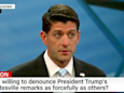 'He messed up ... it was wrong': Paul Ryan nails Trump over response to Charlottesville