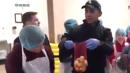 Barack Obama 'Crashes' Chicago Food Bank To Help Out For Thanksgiving
