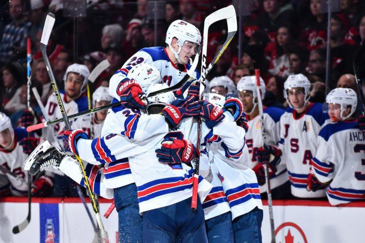 USA wins World Junior gold in shootout thriller over Canada