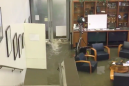 Houston TV station forced to evacuate as Harvey waters flood the newsroom