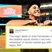 The Sports World Reacts To The Tragic Loss Of Marlins Star Pitcher Jose Fernandez
