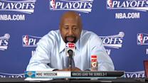 Press Pass: Mike Woodson