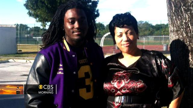 Helicopter mom blocks son's football plans