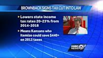 Brownback wants higher education spending cuts restored