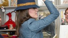 If The Hat Fits! A Fedora Princess Kate Tried On Could Be Yours