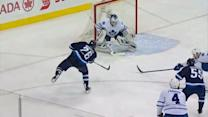 Blake Wheeler burns by defense for goal