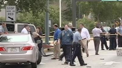 Police Chase Ends In Shooting At Airport
