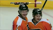 Sean Couturier's tough angle tally