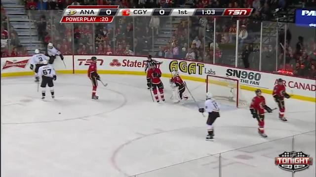 Anaheim Ducks at Calgary Flames - 03/26/2014