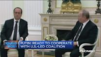 White House silent on Hollande, Putin meeting