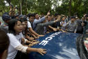 The Latest: UN human rights chief: Myanmar ruling shocking