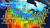 Polar Vortex returns: Blast of Arctic air to impact nearly 40 states