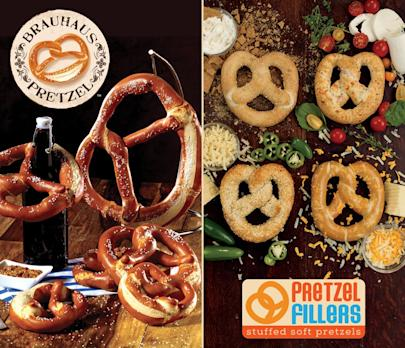 Snack Foods Continues Innovation with new Soft Pretzels