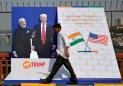 Trump departs for quick trip to India to see big crowds
