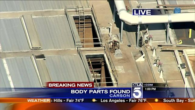 More Human Remains Found at Carson Sewage Plant