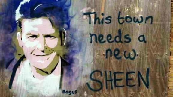 Gov't Deems Charlie Sheen Graffiti