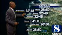 Check out your Sunday evening KSBW Weather Forecast 01 13 13