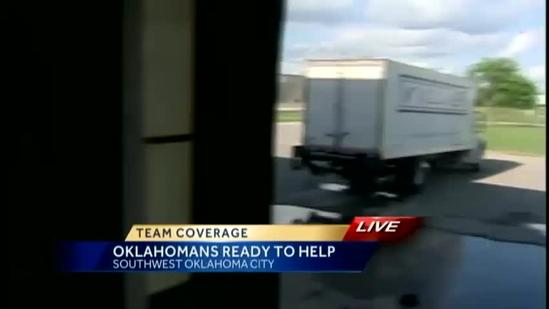 'Feed the Children' sends food, supplies to North Texas