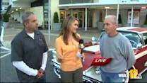 Ava talks shop with experts about vintage car show