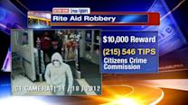 $10,000 reward offered for Rite Aid robberies