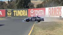 Johnson, Hamlin struggle in Sonoma practice