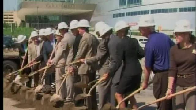 Groundbreaking ceremony for One Place Tower