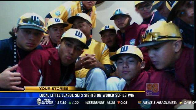 Local Little League sets sights on World Series win