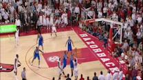 Arkansas Putback Slam for Win over Kentucky