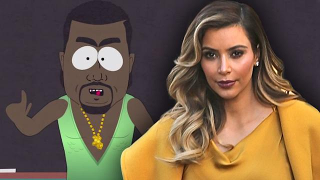 Kanye West Explains Why Kim Kardashian is Not a Hobbit on South Park