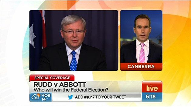 Rudd ousts Julia Gillard