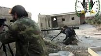 Death and destruction in Syria fighting - amvids