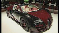 Bugatti display final Veyron in Geneva