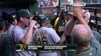 Gray gets Smolinski, A's clinch