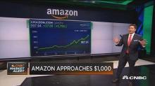 After Amazon touches $999, here's where Wall Street thinks it will go next