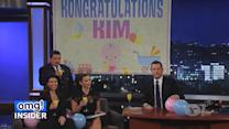 Kim Kardashian's First Baby Shower… on 'Kimmel'