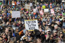 "The Latest: ""March for Our Lives"" rallies draw huge crowds"