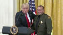 Trump Praises Border Patrol Agent Who 'Speaks Perfect English' At Immigration Event