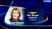 Update from Gov. Hassan on February Nor'easter