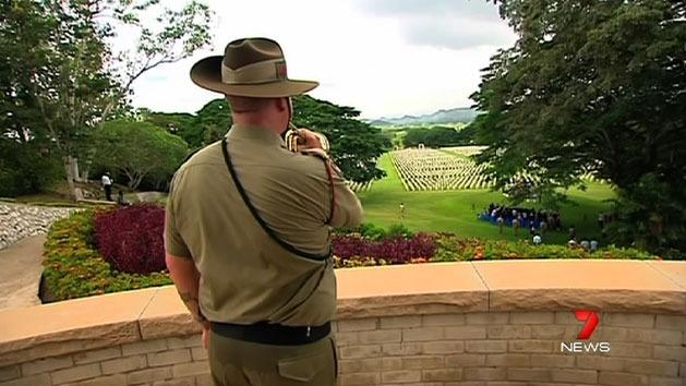 Emotional tributes to Kokoda mates