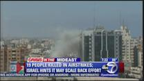 United Nations school in Gaza hit by airstrike; Israel hints war could be scaled back