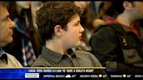 """Local teen raises $17,000 to """"Save a Child's Heart"""""""
