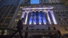 Stock indexes are mixed in afternoon trade; bond yields rise