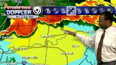 T-Storm Watch In Effect For KC Area