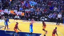 Nikola Jokic threw TWO absurd no-look passes over his shoulder in the same game