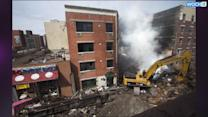 Crews Focus On Gas Lines In New York Building Explosion