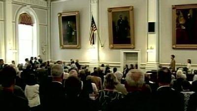 NH House Members Sing National Anthem